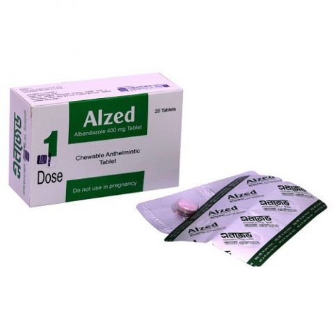 Alzed 400 mgChewable Tablet