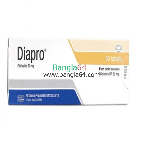 Diapro 80 mgTablet