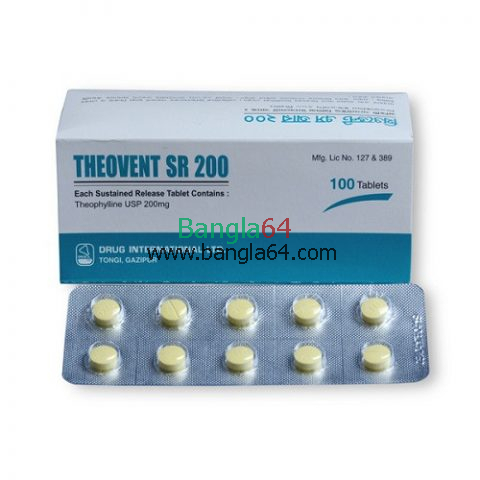 Theovent-SR 200 mg Tablet