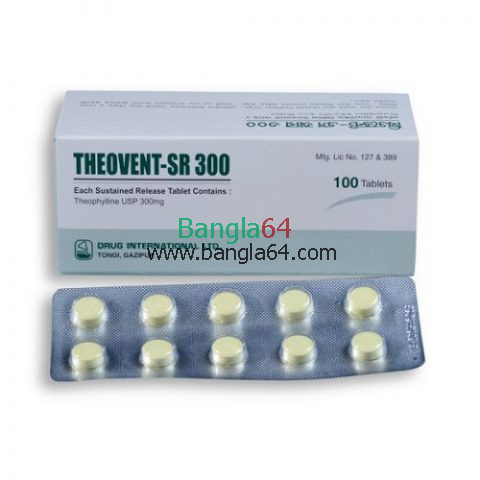 Theovent-SR 300 mg Tablet