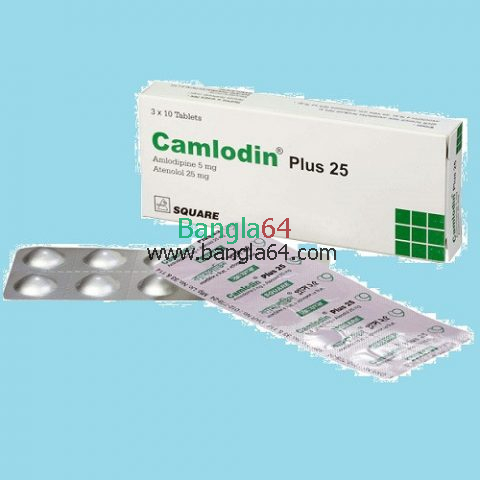 Camlodin Plus 25Tablet